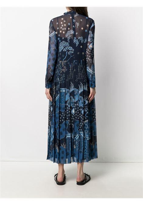 Blue dress VALENTINO RED | DRESS | VR3VAW705S1B01
