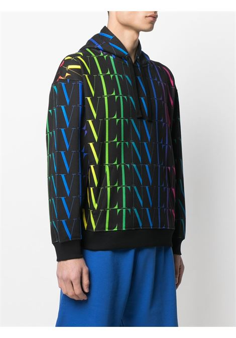 Black/multicolour sweatshirt VALENTINO |  | MF15P79520K