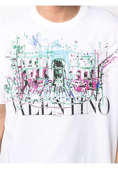 White t-shirt VALENTINO |  | MG01F75P33U
