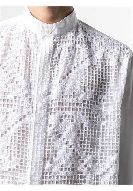 White shirt VALENTINO | SHIRTS | VV0ABH307EQ0BO