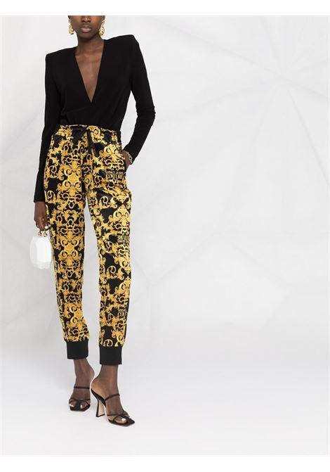 Pantalone nero VERSACE JEANS COUTURE | PANTALONI | A1HWA10CS0034899