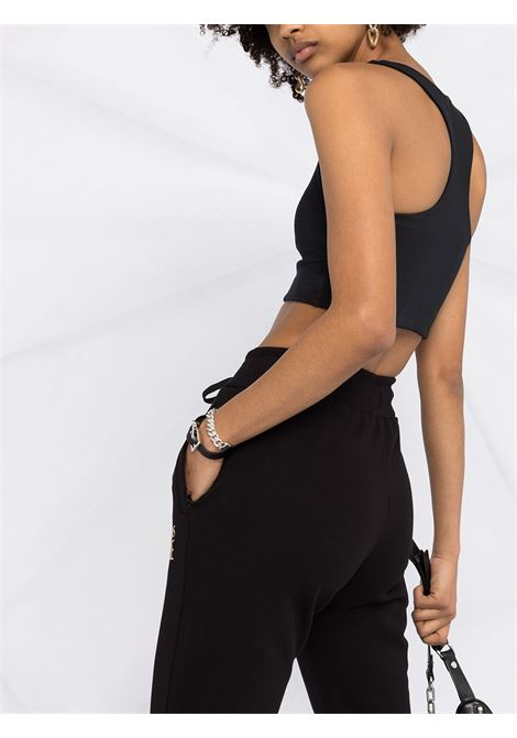 Pantalone nero VERSACE JEANS COUTURE | PANTALONI | A1HWA1TA30318K42