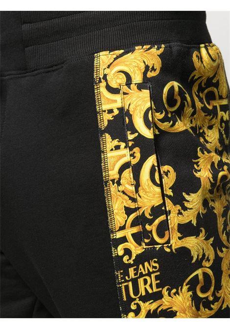 Pantalone nero VERSACE JEANS COUTURE | PANTALONI | A2GWA1F9S0156899
