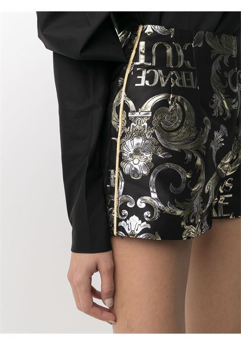 Shorts nero VERSACE JEANS COUTURE | SHORTS | A3HWA17111719899