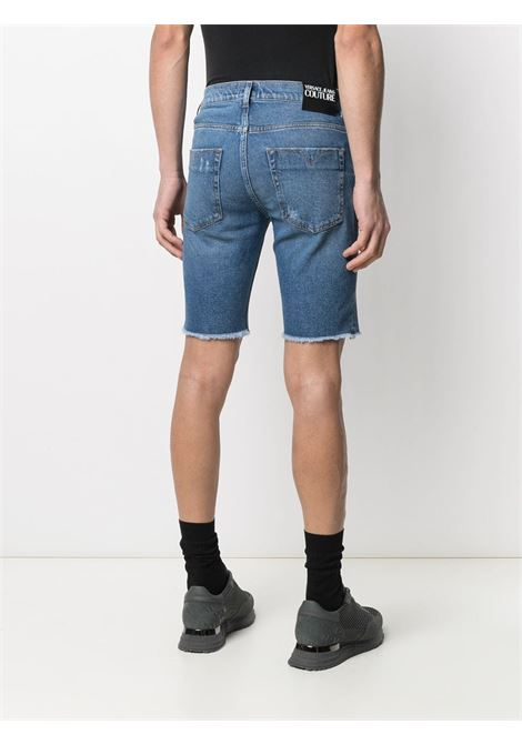 Shorts blu VERSACE JEANS COUTURE | SHORTS | A4GWA177AR883904