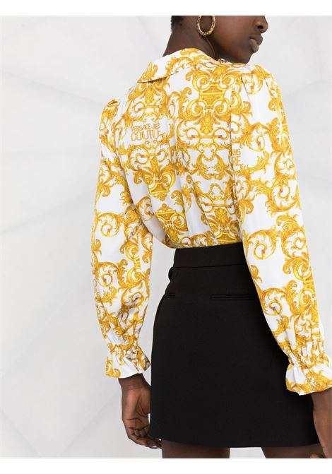 White shirt VERSACE JEANS COUTURE      B0HWA612S0990003