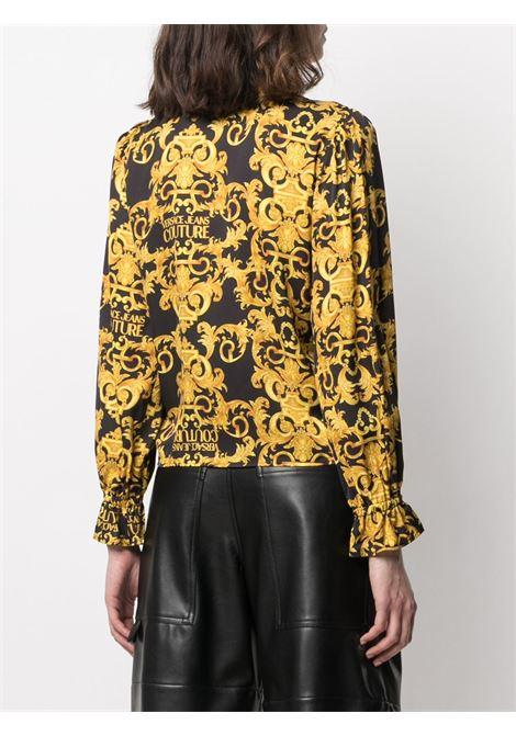 Camicia oro/nero VERSACE JEANS COUTURE | CAMICIE | B0HWA612S0990899