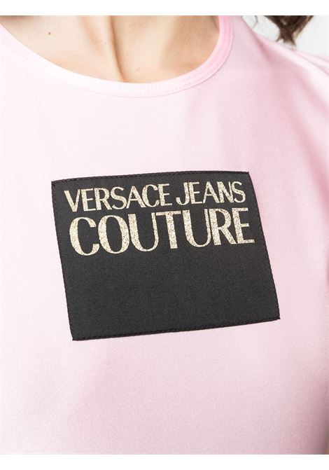 T-shirt rosa VERSACE JEANS COUTURE | T-SHIRT | B2HWA70304745402