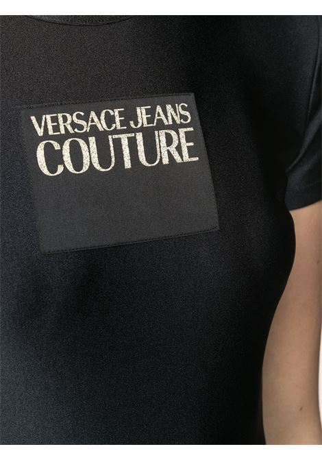 T-shirt nera VERSACE JEANS COUTURE | T-SHIRT | B2HWA70304745899