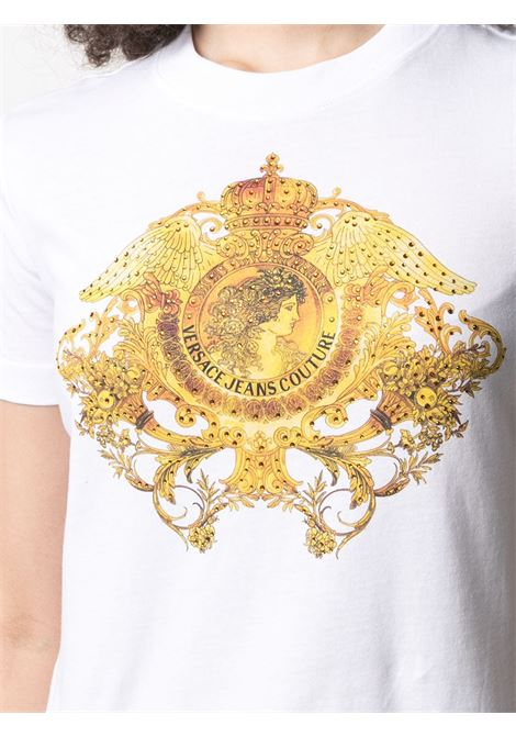 White t-shirt VERSACE JEANS COUTURE   T-SHIRT   B2HWA72911620003