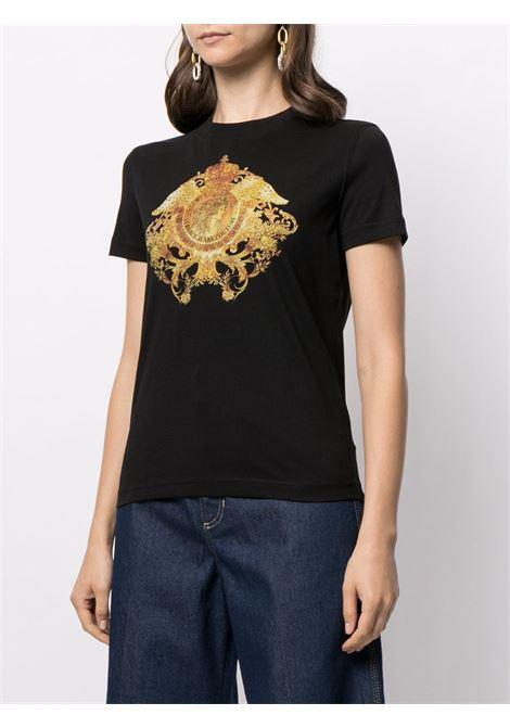 Black t-shirt VERSACE JEANS COUTURE   T-SHIRT   B2HWA72911620899