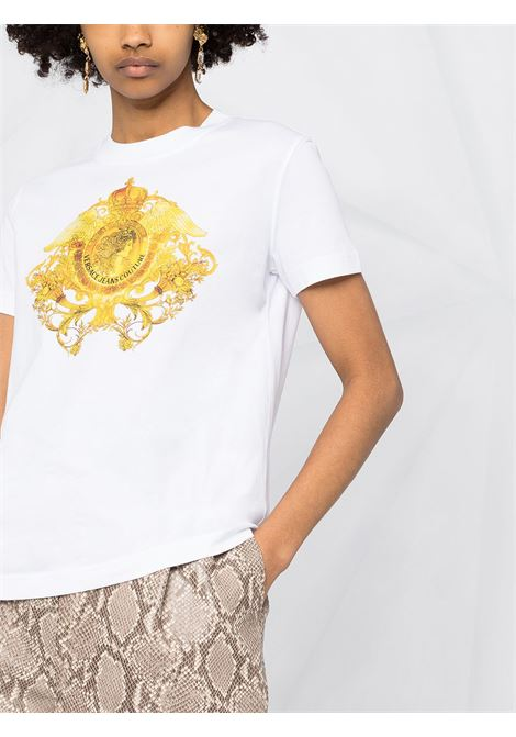 White t-shirt VERSACE JEANS COUTURE   T-SHIRT   B2HWA73030454003