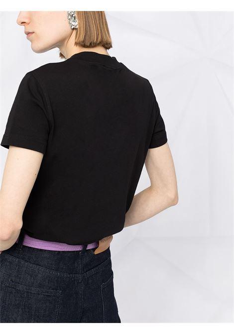 Black t-shirt VERSACE JEANS COUTURE   T-SHIRT   B2HWA73030454899