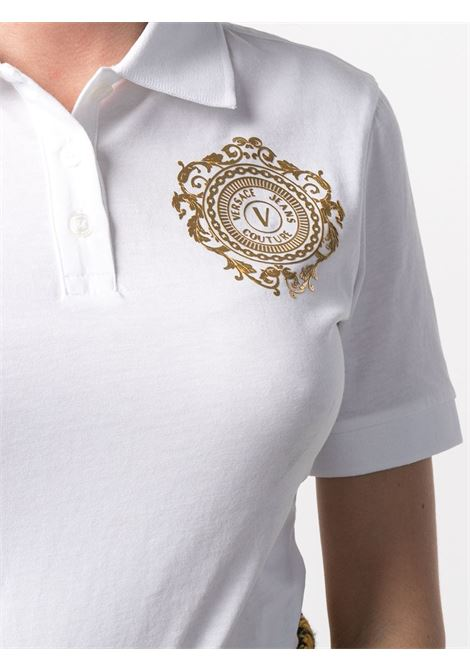 Polo bianca VERSACE JEANS COUTURE | POLO | B2HWA7FB30454K41
