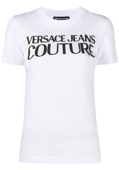 T-shirt bianca VERSACE JEANS COUTURE | B2HWA7TA30454003
