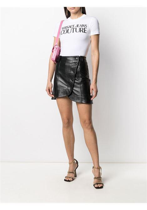 T-shirt bianca VERSACE JEANS COUTURE | T-SHIRT | B2HWA7TA30454003