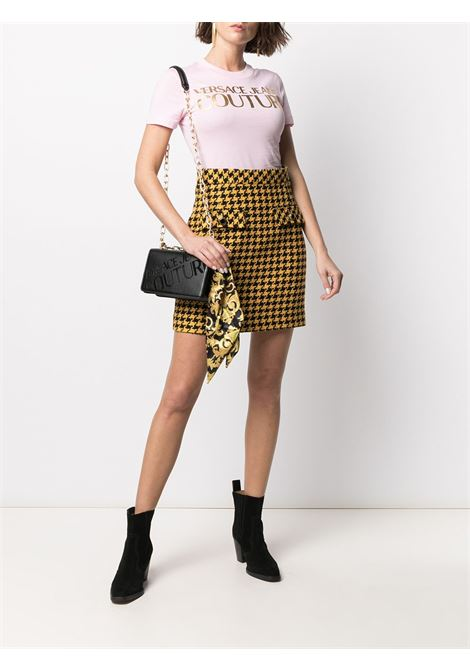 T-shirt rosa VERSACE JEANS COUTURE | T-SHIRT | B2HWA7TB30319402