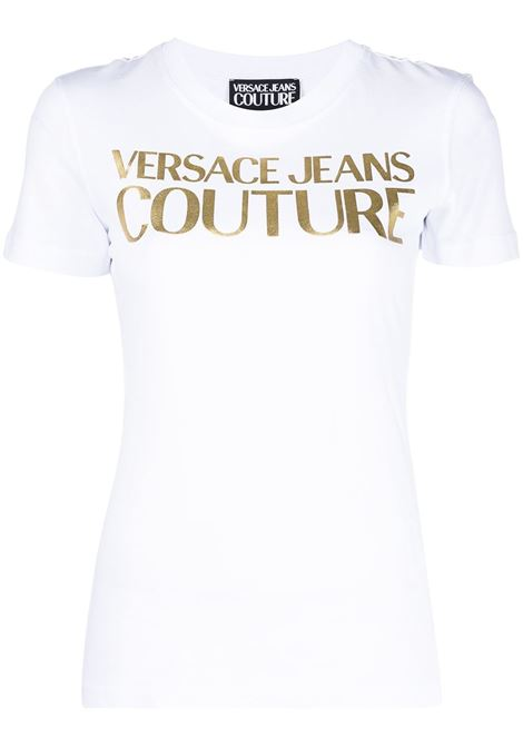 T-shirt bianca VERSACE JEANS COUTURE | B2HWA7TB30319K41