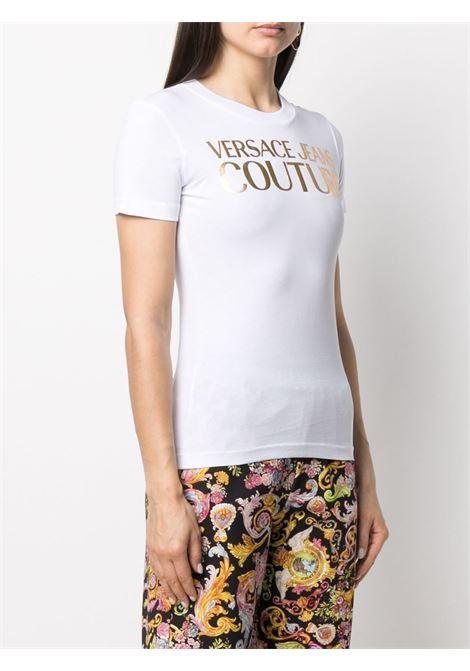 T-shirt bianca VERSACE JEANS COUTURE | T-SHIRT | B2HWA7TB30319K41