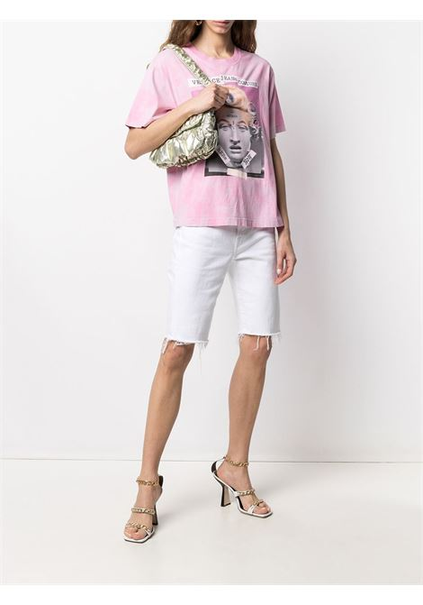 Pink t-shirt VERSACE JEANS COUTURE |  | B2HWA7VA30444O25