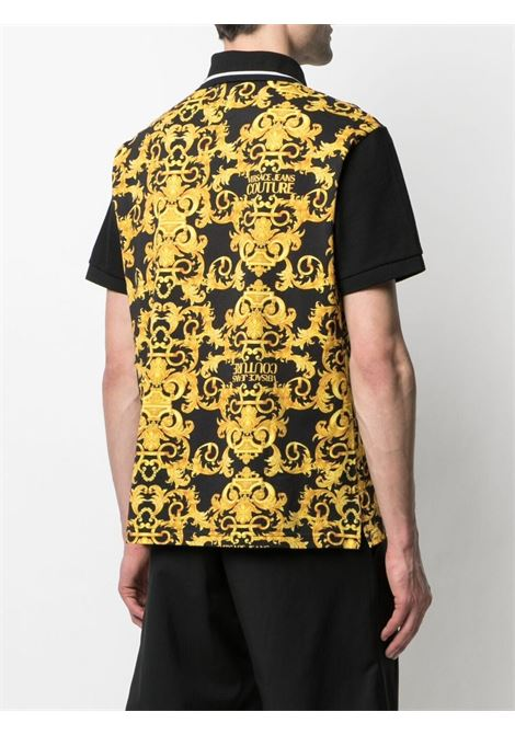 Black Polo shirt VERSACE JEANS COUTURE | POLO | B3GWA722S0154899