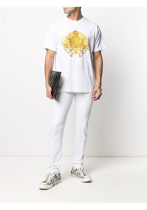White t-shirt VERSACE JEANS COUTURE | B3GWA74011620003