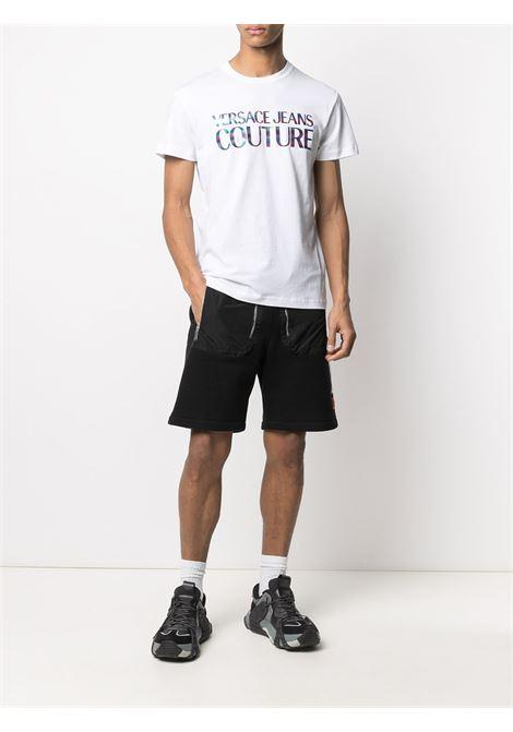 T-shirt bianca VERSACE JEANS COUTURE | T-SHIRT | B3GWA7GB30382003