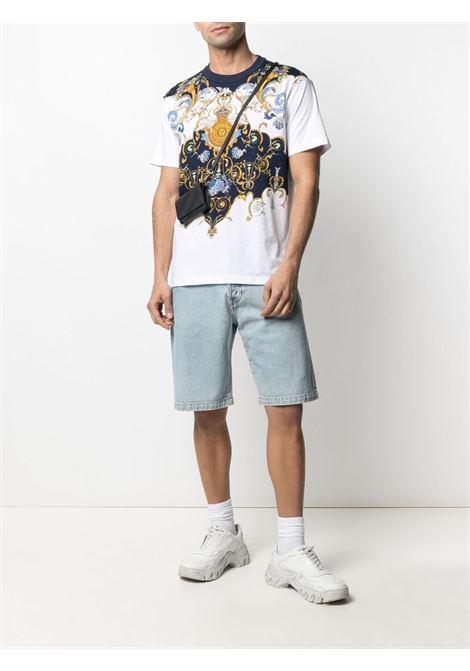 T-shirt bianca VERSACE JEANS COUTURE | T-SHIRT | B3GWA7R011620003