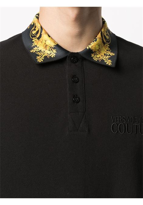 Black Polo shirt VERSACE JEANS COUTURE |  | B3GWA7T236571K42