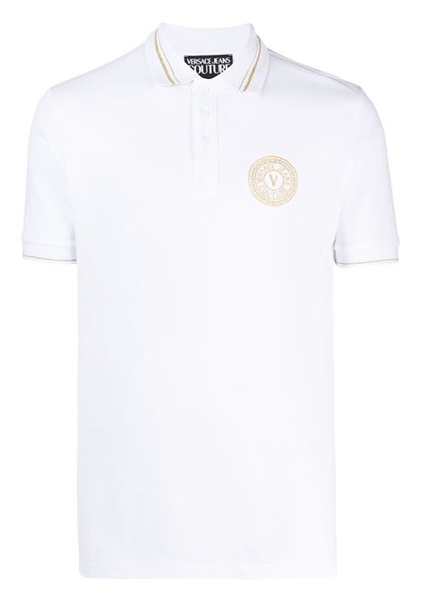 Polo bianca VERSACE JEANS COUTURE | POLO | B3GWA7T336571K41
