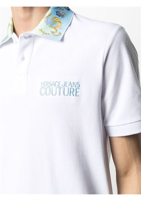 White Polo shirt VERSACE JEANS COUTURE | POLO | B3GWA7T536571003