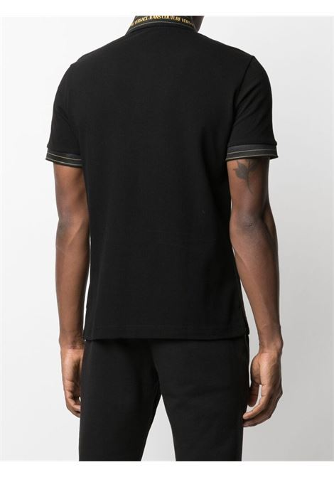 Black Polo shirt VERSACE JEANS COUTURE | POLO | B3GWA7T636571K42