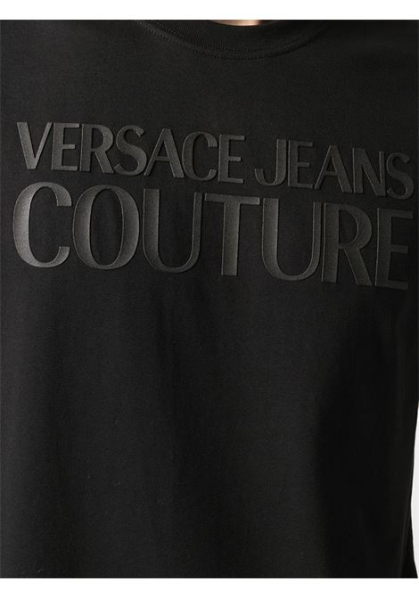 Black t-shirt VERSACE JEANS COUTURE |  | B3GWA7TA30454899