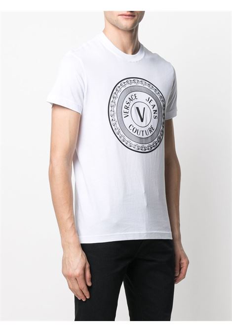T-shirt bianca VERSACE JEANS COUTURE | T-SHIRT | B3GWA7TD30319003