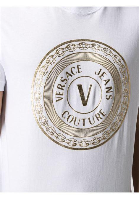 T-shirt bianca VERSACE JEANS COUTURE | T-SHIRT | B3GWA7TE30319K41