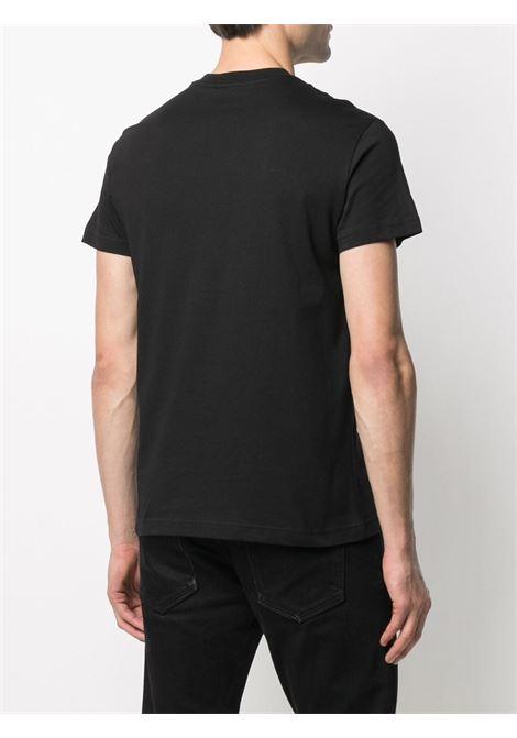 T-shirt nera VERSACE JEANS COUTURE | T-SHIRT | B3GWA7TE30319K42