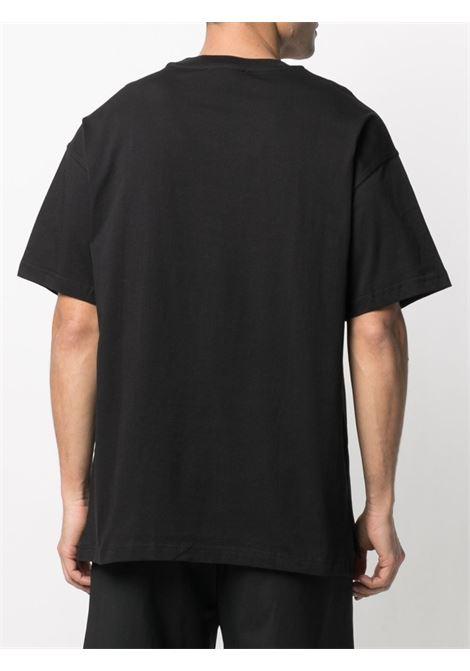T-shirt nera VERSACE JEANS COUTURE | T-SHIRT | B3GWA7TR30319K42