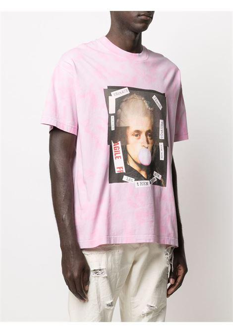 Pink t-shirt VERSACE JEANS COUTURE |  | B3GWA7VB30444O25