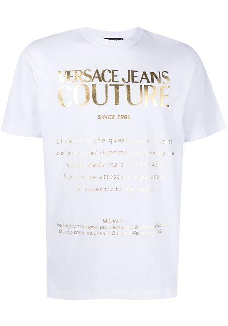 White t-shirt VERSACE JEANS COUTURE |  | B3GWA7VT30319K41