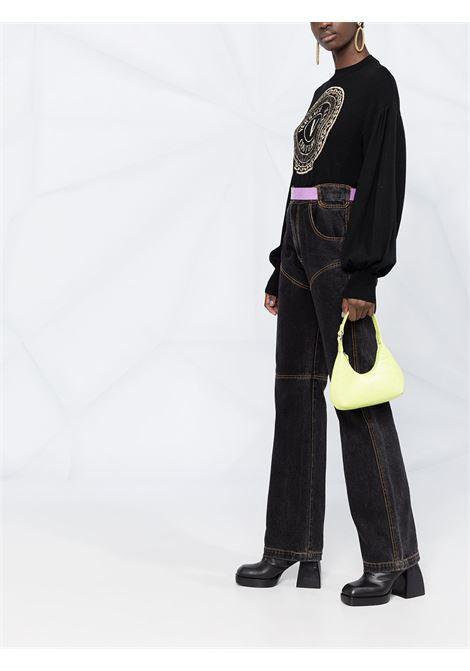 Maglione nero VERSACE JEANS COUTURE | MAGLIE | B4HWA81550645K42