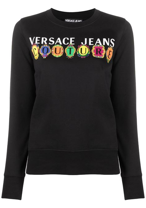 Black sweatshirt VERSACE JEANS COUTURE |  | B6HWA7PC30456899
