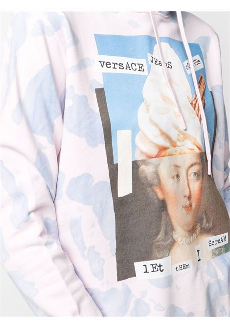 LightPink/light blue sweatshirt VERSACE JEANS COUTURE |  | B6HWA7VF30443O22