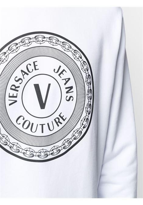 Felpa bianca VERSACE JEANS COUTURE | FELPE | B7GWA7TT30318003