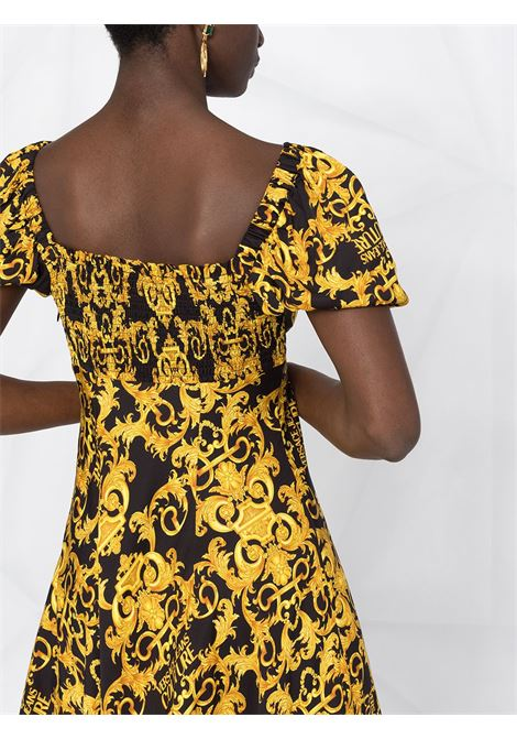 Black/yellow dress VERSACE JEANS COUTURE |  | D2HWA440S0990899