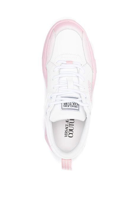 Sneakers bianca/rosa VERSACE JEANS COUTURE | SNEAKERS | E0VWASF471960LQ2