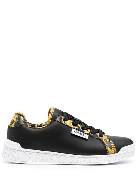 Black sneakers VERSACE JEANS COUTURE |  | E0VWASP171973M27