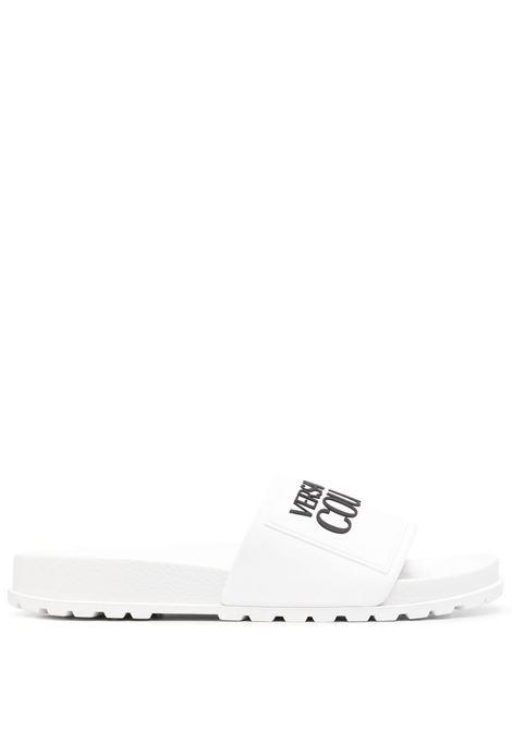 Ciabatta bianca VERSACE JEANS COUTURE | CIABATTE | E0VWASQ271353003