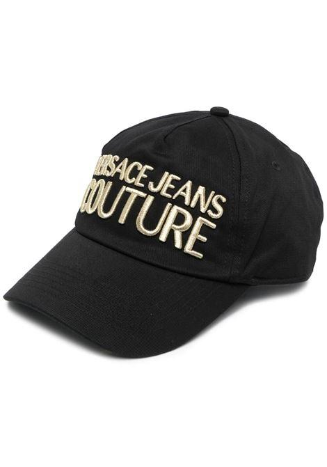 Cappello nero VERSACE JEANS COUTURE | CAPPELLI | E8YWAK1085075M27