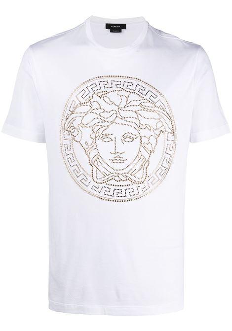 T-shirt bianca VERSACE | A77987A201952A1001