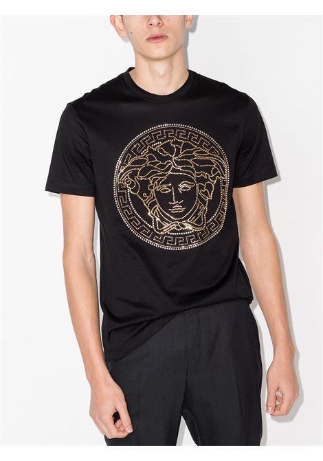 T-shirt nera VERSACE | A77987A201952A1008